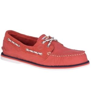 Sperry Canvas Boat Shoes Men Size 8